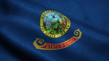 Idaho state flag.
