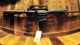The AR-15.