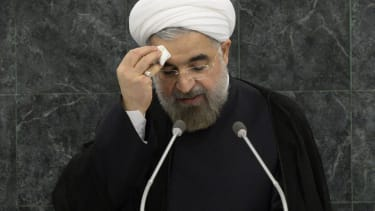 Iranian President Rouhani: 'No option but to confront terrorism' in Iraq