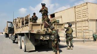 Troops in Kunduz, Afghanistan.