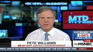 Pete Williams says there is not Clinton Foundation investigation at FBI