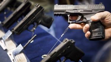 A gun show in Reno, Nevada.