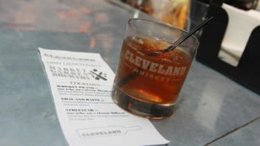 Cleveland Whiskey uses a pressure-aging process which lowers the distillation process from years to days.