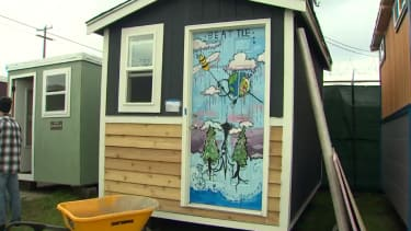 Seattle is opening a village of tiny homes for the homeless.
