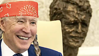 Biden as Willie Nelson