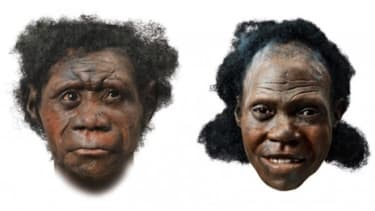 The faces of early man