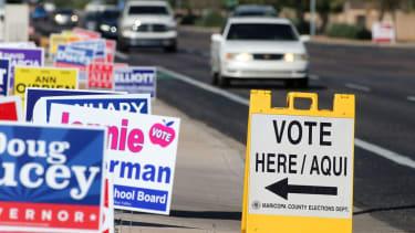 Arizona polling place.