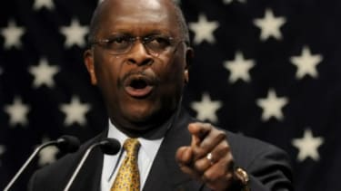 Entrepreneur and Republican presidential hopeful Herman Cain may have never held political office, but he is now among Iowa Republicans' favorite candidates.