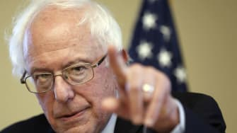 Bernie Sanders is sending mixed messages on his thoughts on foreign policy.