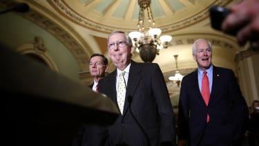 Republican senators.