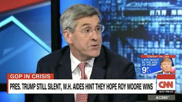 Stephen Moore says abortion is equal to child predation
