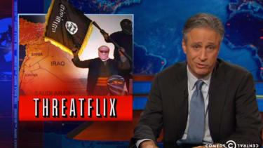 Jon Stewart mocks ISIS over apparent jealousy of Ebola, airs mock Ebola terrorist video