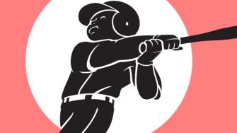 A baseball player.