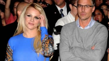Britney Spears and (former) fiance Jason Trawick on Sept. 11, 2012:Yeah, we could have seen this one coming.