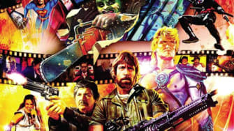 Movie poster for Electric Boogaloo: The Wild, Untold Story of Cannon Films