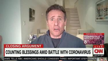 CNN's Chris Cuomo in quarantine