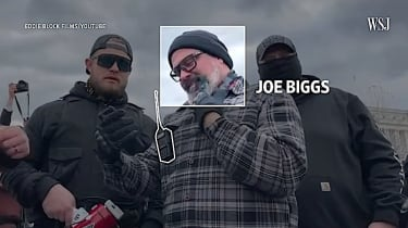 Wall Street Journal follows the Proud Boys during the Capitol siege