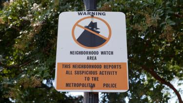 A neighborhood watch sign.