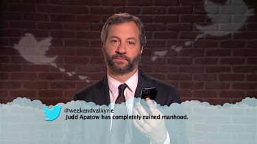 Judd Apatow, other celebrities read mean tweets about themselves on Kimmel Live