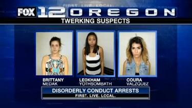 3 women arrested in Oregon for 'twerking,' possessing drugs