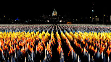 """A """"Field of Flags"""" for Biden inauguration"""