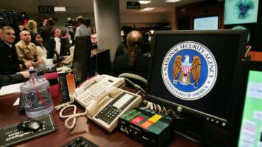 An NSA workstation.