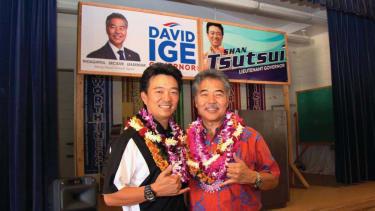 Democrat David Ige elected Hawaii governor