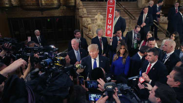 Donald Trump does not need a high budget for publicity.