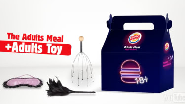 Burger King will celebrate Valentine's Day in a unique way for a fast food company.