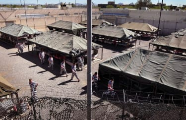 Maricopa County's infamous Tent City in 2010.