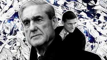 Robert Mueller and Michael Flynn.