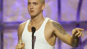 Eminem in 2000