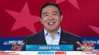 Andrew Yang zings Trump