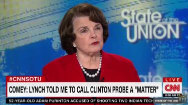 Sen. Dianne Feinstein on CNN