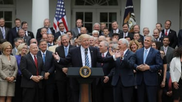 President Trump and House Republicans.