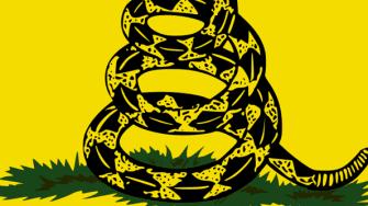The Gadsden Flag.