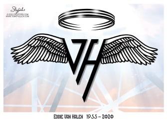 Editorial Cartoon U.S. Eddie Van Halen RIP