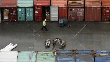 London dockworkers discover 35 people, one dead, in shipping container