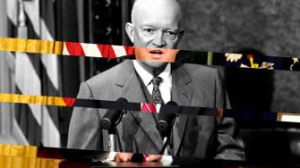 President Trump and Dwight Eisenhower.