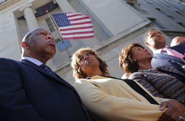 Members of the Congressional Black Caucus.