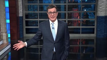 Stephen Colbert recaps Sam Nunberg's afternoon on cable news