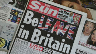 Newspapers around the world reported on the U.K.'s historic decision to leave the European Union.