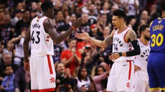 Toronto Raptors win Game 1 of NBA Finals