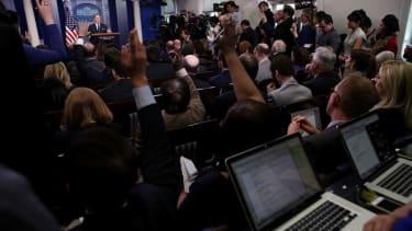 Breitbart News will not receive permanent press credentials yet.