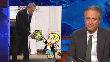Jon Stewart is really sick of Democrats' fundraising emails
