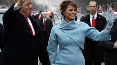 Melania Trump becomes first lady
