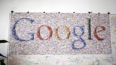 A poster at Google HQ