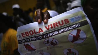 County in Liberia runs out of body bags for Ebola victims
