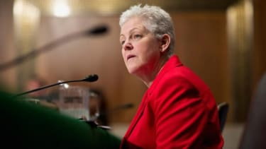 During her weeks-long nomination hearing, Gina McCarthy reportedly too more than 1,100 questions, the vast majority of which came from Republicans.