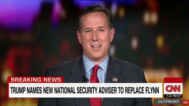 Rick Santorum on President Trump's golf habit